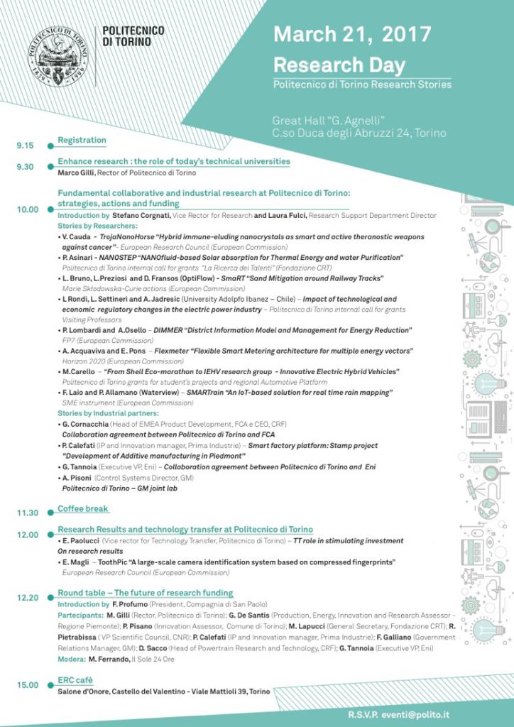 Research Day @ Politecnico di Torino