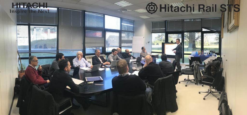 SMaRT – workshop at HITACHI Rail STS offices