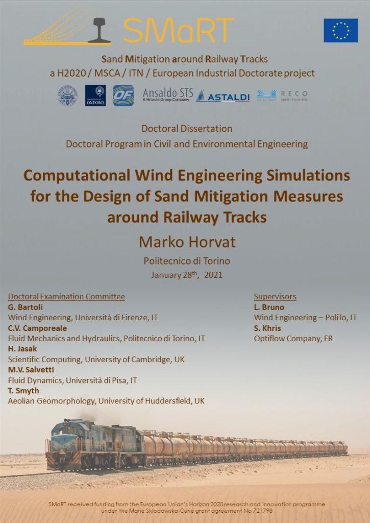 PhD dissertation by ESR1, M. Horvat