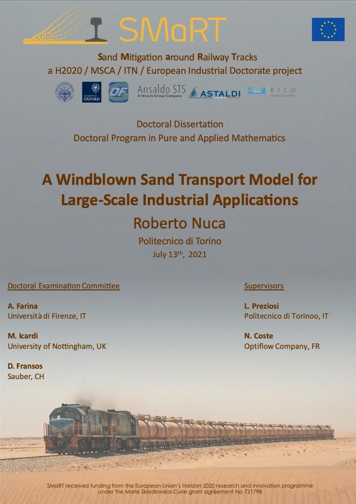 PhD dissertation by ESR2, R. Nuca
